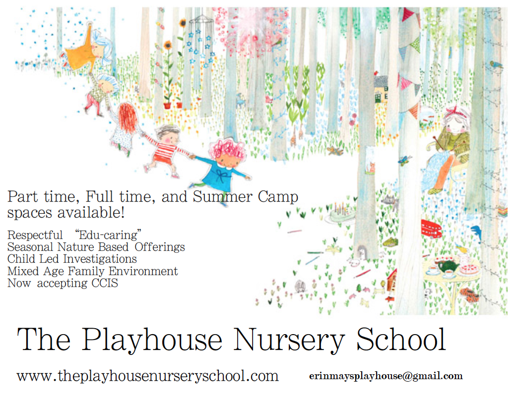 The Playhouse Nursery School | a home-based daycare and preschool ...